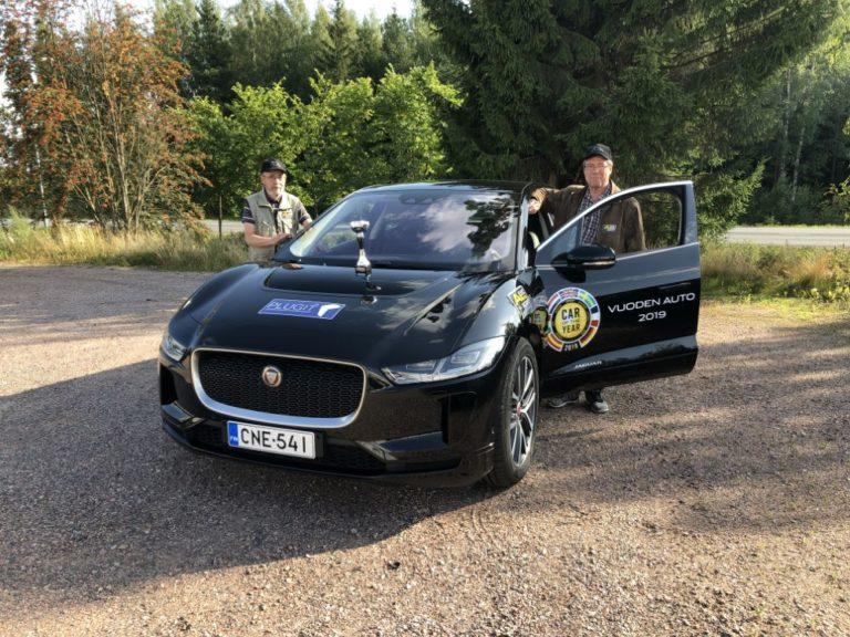 Taloudellisuusajon Pohjois-Euroopan mestaruuteen sähköautolla