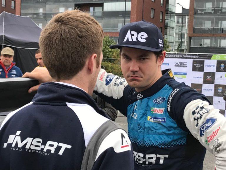 WRC: Sunisella turhauttava päivä