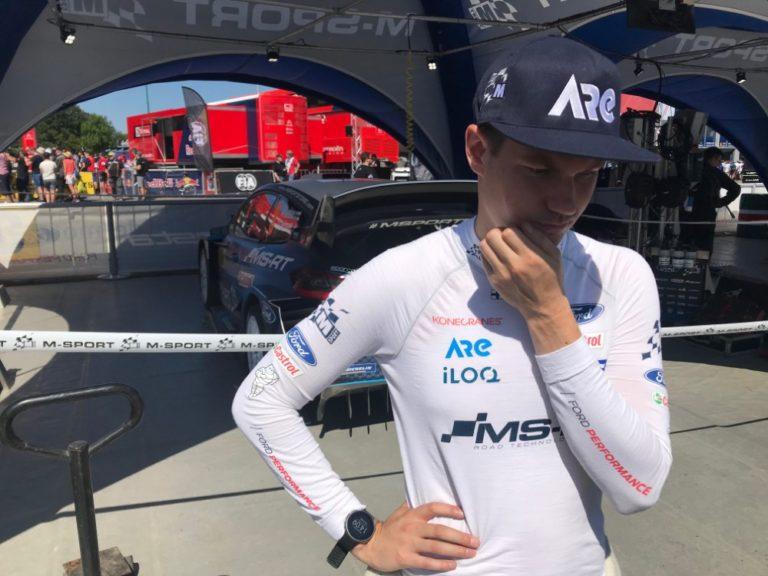 WRC: Suninen putosi hieman Mikkelsenin kyydistä