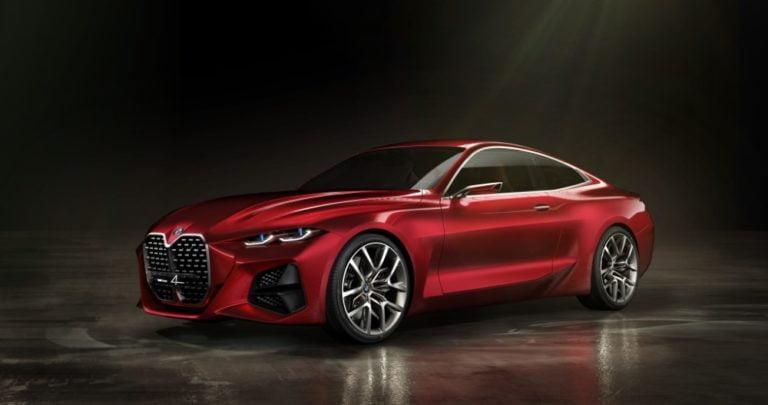 BMW esittelee Frankfurtin autonäyttelyssä uuden BMW Concept 4:n