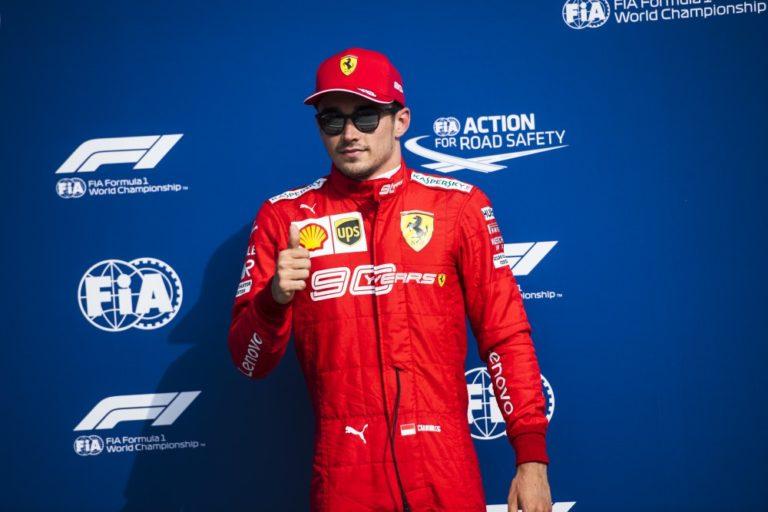 F1: Leclerc taistelleen Monzan voittajaksi