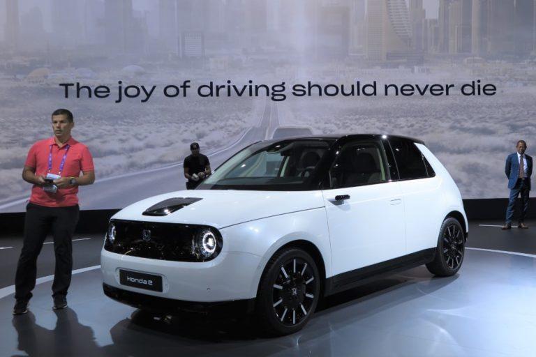 Hondan ensimmäinen sähköauto Eurooppaan — Suomeen vasta 2021