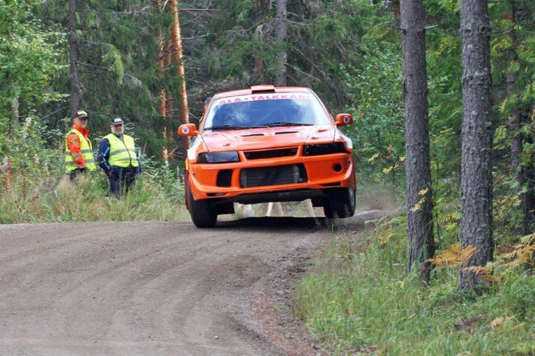 Rallisprint: Juha Lusa Ruoveden SM-rallisprintin nopein