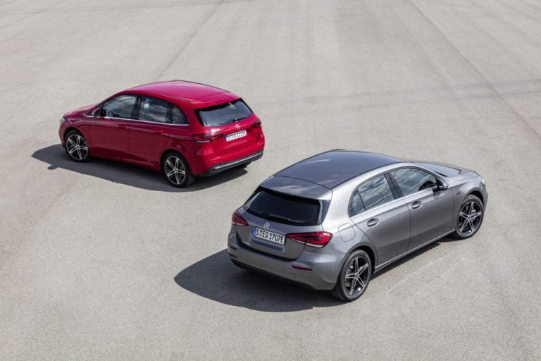 Mercedes esittelee Frankfurtissa A- ja B-sarjan ladattavat hybridit
