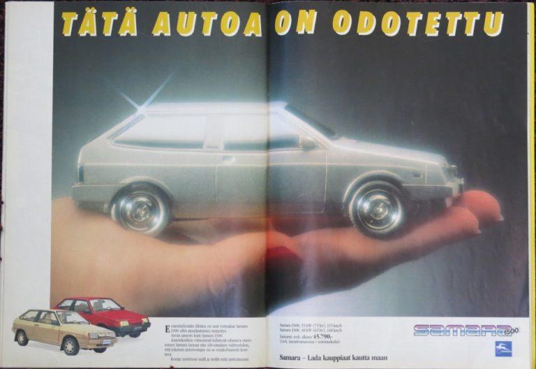 Päivän automainos: Lada Samara — Tätä autoa on odotettu