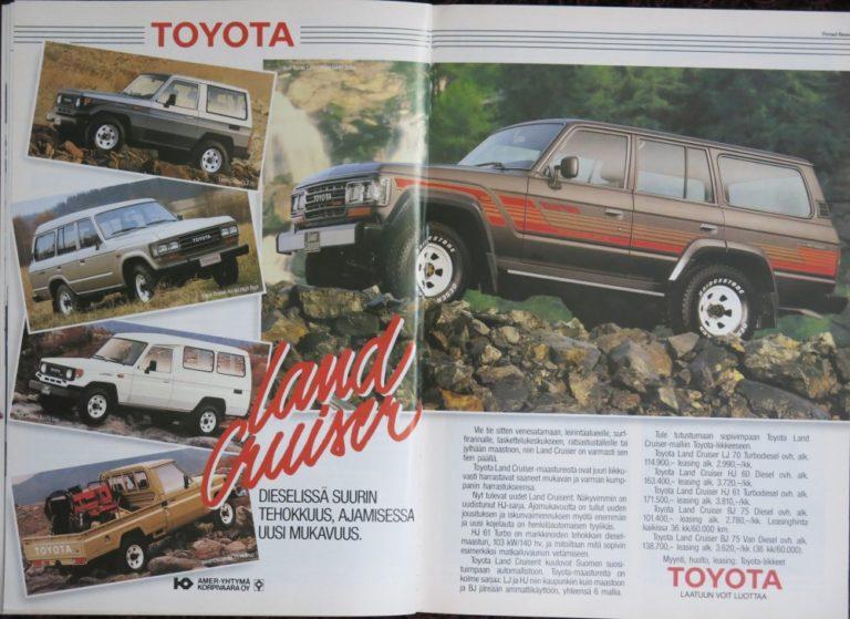 Päivän automainos: Toyota Land Cruiser — Dieselissä suurin tehokkuus, ajamisessa uusi mukavuus