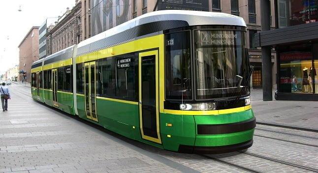 Katso tästä raitiovaunujen väistämissäännöt