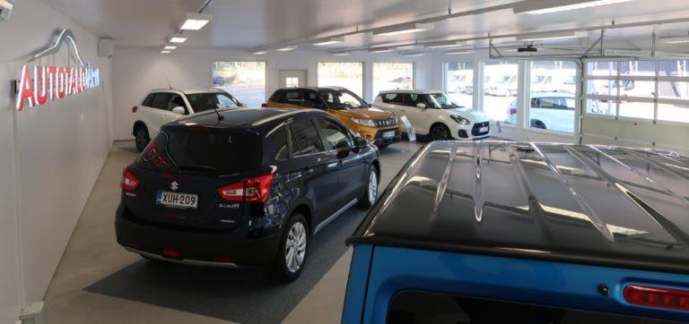 Kotkassa on avattu uusi Suzuki-myymälä