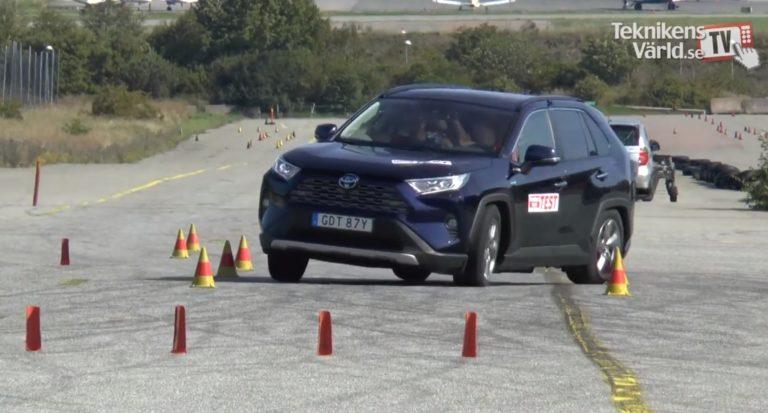 Teknikens Värld -lehti: Toyota RAV4 on vaarallinen — ei selviä hirvenväistöstä