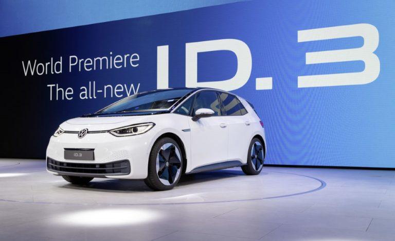Tällainen on Frankfurtissa esiteltävä Volkswagenin sähköauto ID.3