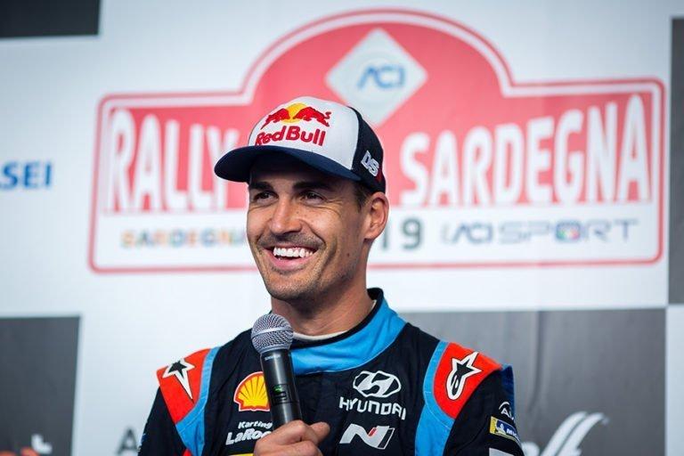 WRC: Espanjan MM-rallin tilanne aamupäivän jälkeen