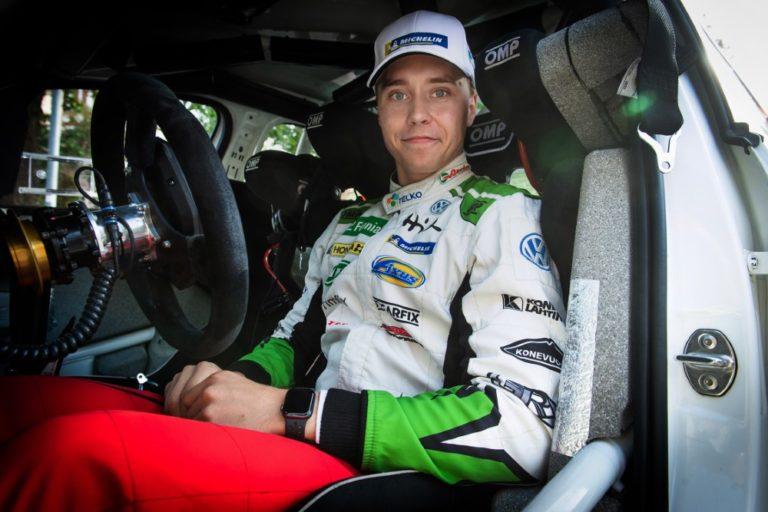 WRC: Emil Lindholm mukaan Espanjan MM-ralliin