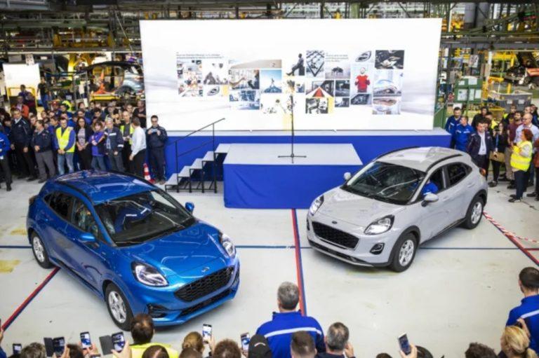 Ford käynnisti uuden Puma-mallin valmistuksen