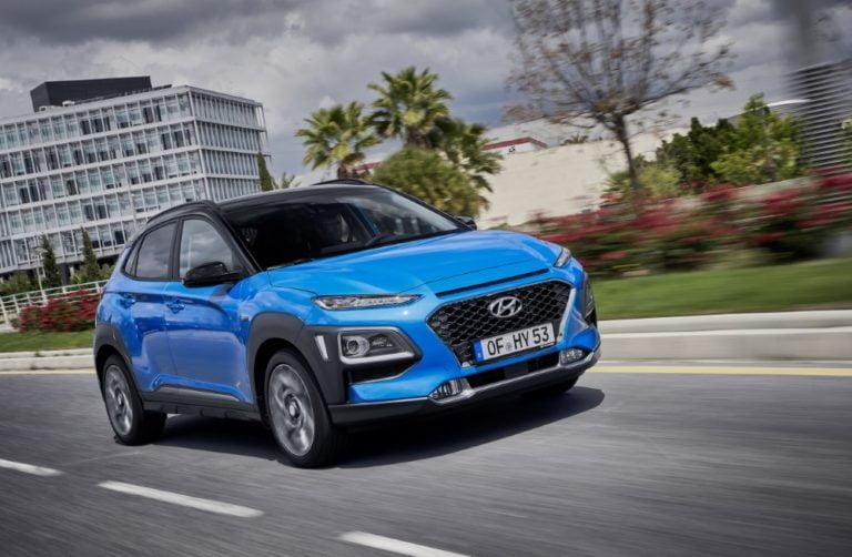 Syksyn aikana tulee hybridi Hyundai Kona -mallistoon