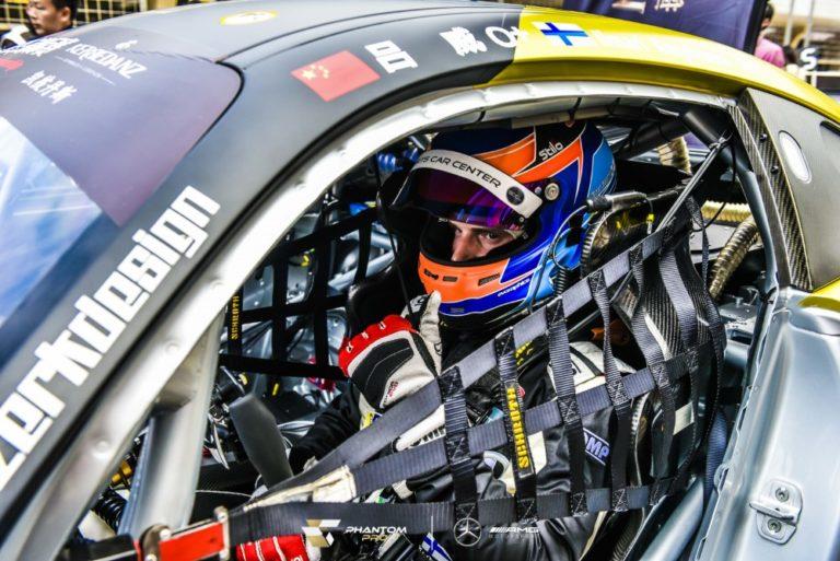 Ilmari Korpivaara osallistui China GT -sarjan päätöskilpailuun Shanghaissa