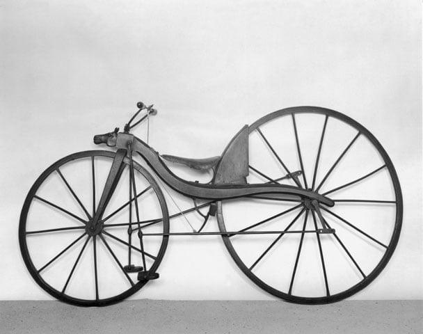 Historian havinaa: Juoksupyörästä polkupyörään