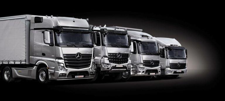 Daimlerin käytettyjen kuorma-autojen myyntiportaali myös Suomeen