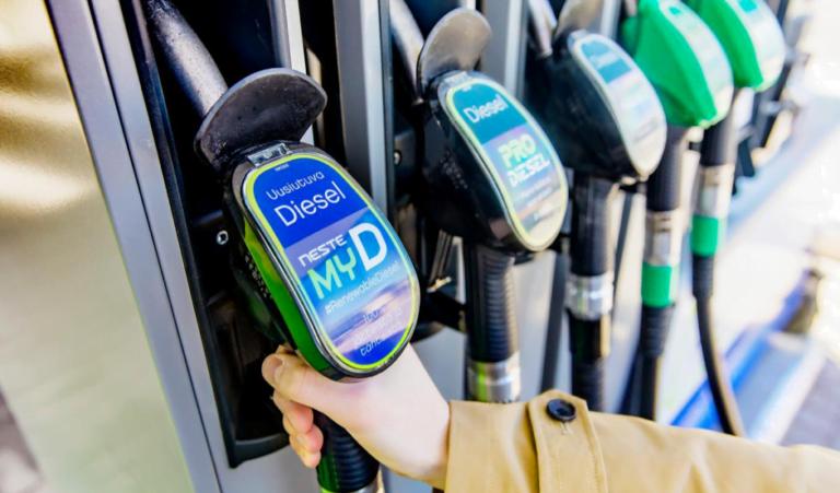 Nesteen ympäristöystävällistä dieseliä on tarjolla nyt myös Tallinnassa