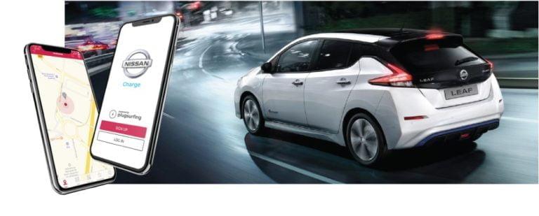 Nissan Leaf -käyttäjillä 100 000 latauspistettä yhdessä kännykkäsovelluksessa