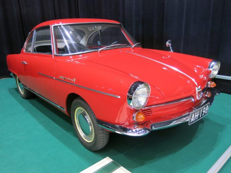 Päivän urheiluauto: NSU Sport Prinz Coupé 1960