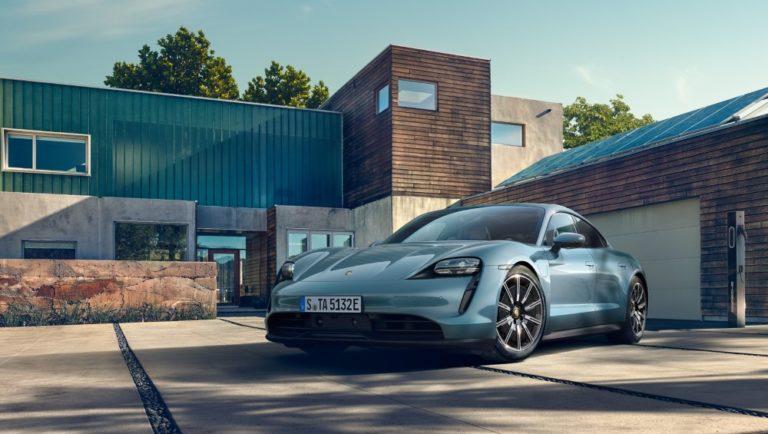 Porsche tuo markkinoille uuden sähköisen Taycan-version