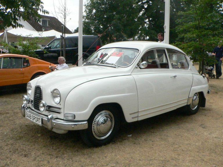 Päivän urheiluauto: Saab Sport 1964