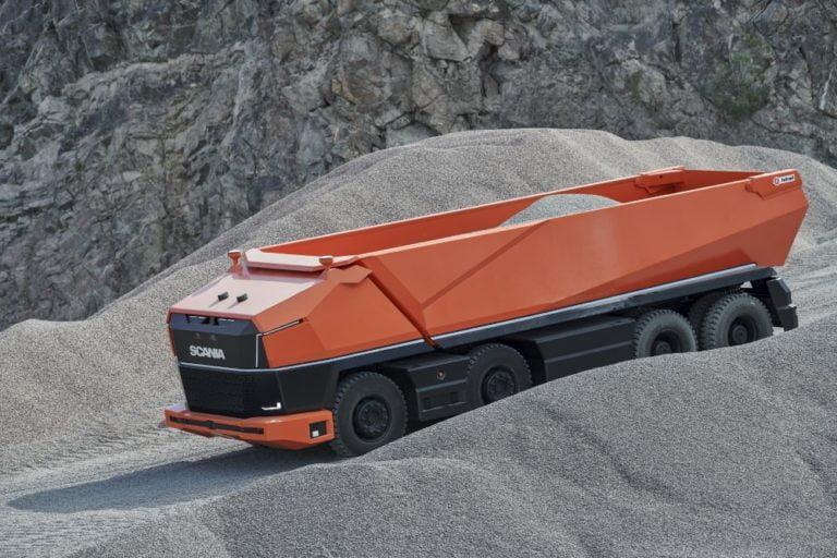 Tältä näyttää Scanian itseohjautuva kuorma-auto ilman ohjaamoa