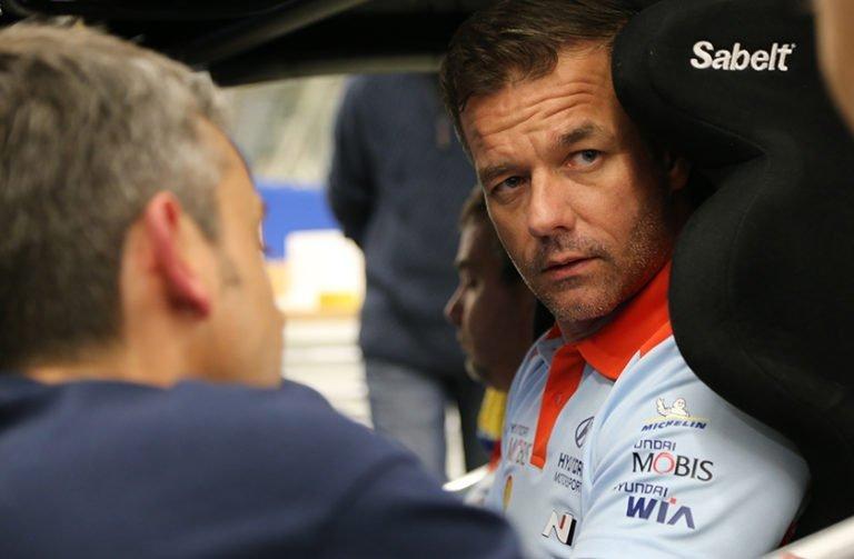 WRC: Sébastien Loeb nousi Espanjan MM-ralli kärkeen — Hyundailla kolmoisjohto