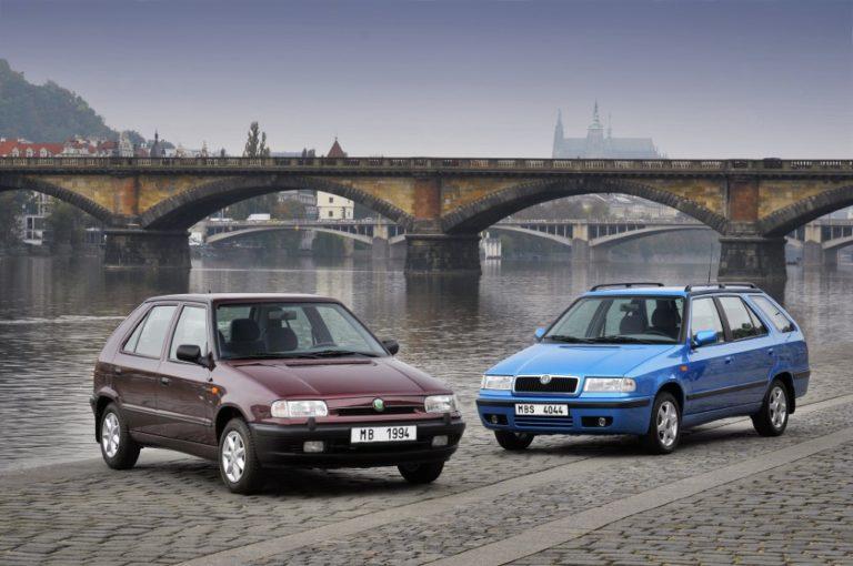 Historian havinaa: Škodan ensimmäinen VW-yhteistyönä syntynyt malli valmistui tasan 25 vuotta sitten