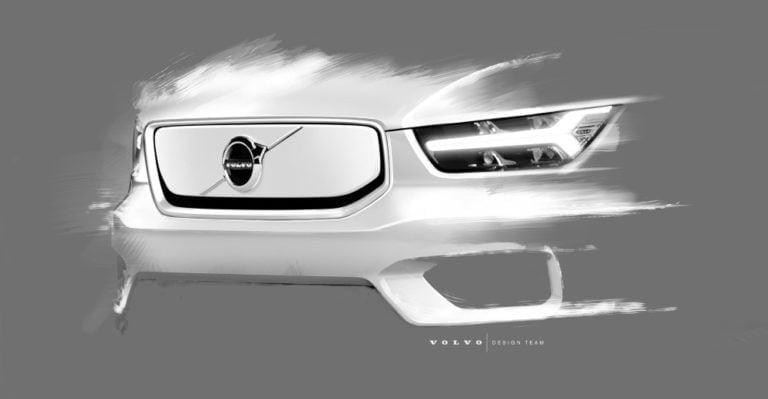 Volvo näyttää lisää yksityiskohtia tulevasta XC40-sähköautostaan