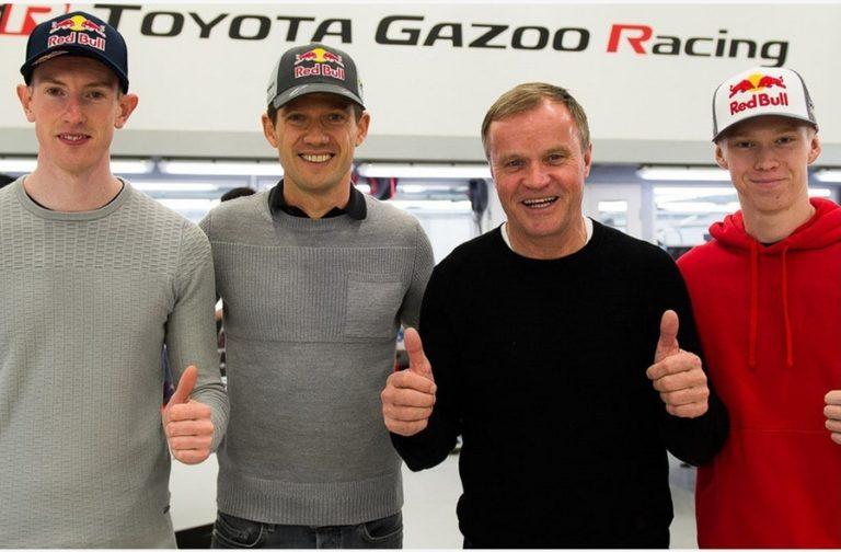WRC: Toyotan uusi kuljettajakolmikko on nyt julkistettu virallisesti: Ogier, Evans ja Rovanperä