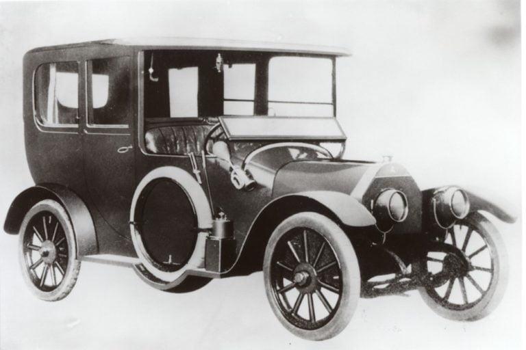Päivän museoauto: Kunniapaikalle päässyt Mitsubishi Model A vuodelta 1917