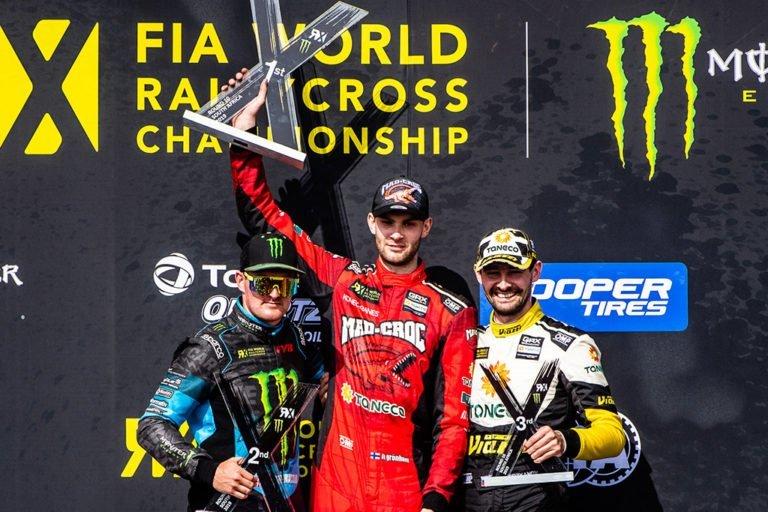Rallicross: Niclas Grönholm päätti kauden voittojuhliin
