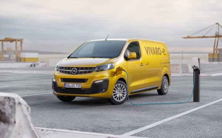 Opel Vivaron sähköversio markkinoille ensi vuonna