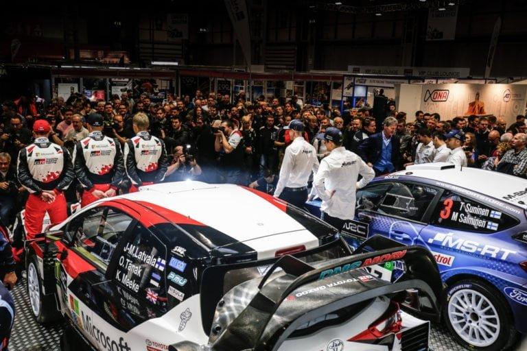 """WRC: Ensi vuoden rallin MM-sarja """"käynnistyy"""" Birminghamissa"""