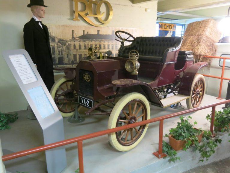 Päivän museoauto: Reo Runabout G 1909 — Vaasan kolmas automobiili