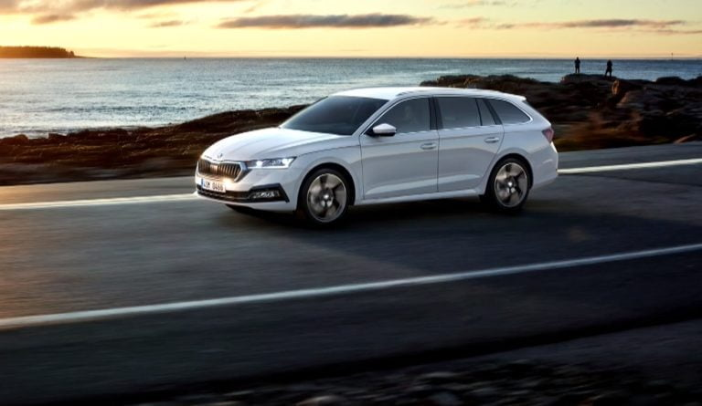 Tältä uusi Škoda Octavia näyttää