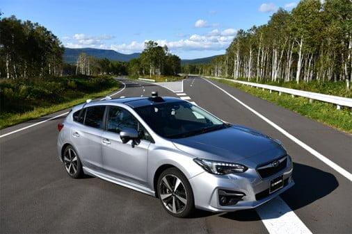 Subaru ja SoftBank aloittavat autonomisen ajamisen tutkimusyhteistyön