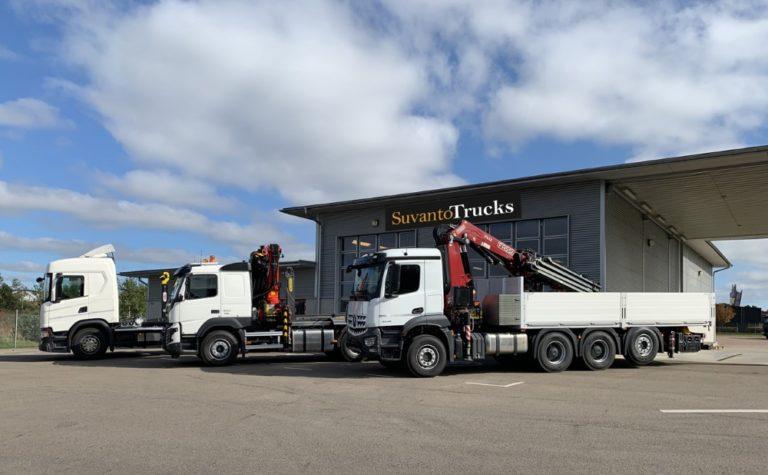 Hyötyajoneuvokauppias Suvanto Trucks Oy avaa toimipisteen Ruotsiin