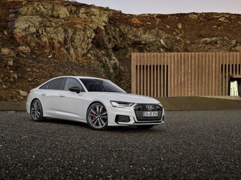 Audin A6 -sedan-malliston ladattavat hybridit hinnoiteltu