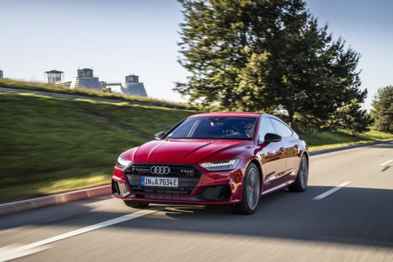 Audi A7 Sportback -mallistoon ladattavat hybridit