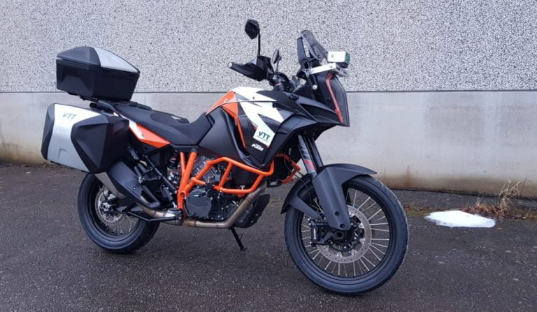 VTT:n liikenteen tutkimusprojekteihin mukaan nyt myös moottoripyörä