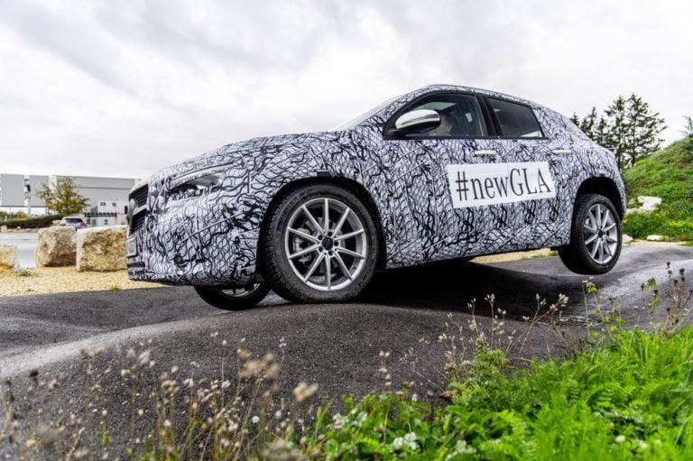 Mercedes-Benzin uusin malli julkistetaan verkossa ensi viikolla