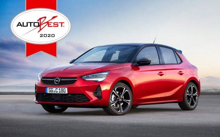 Opel Corsa voitti Autobest-kisan