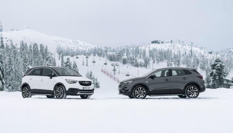 Opelilta erikoisversiot Opel Crossland X ja Grandland X -malleista