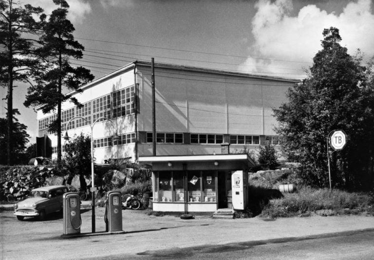 Päivän huoltoasema: 1960-luvulla Helsingin Etelä-Haagassa ollut Teboil