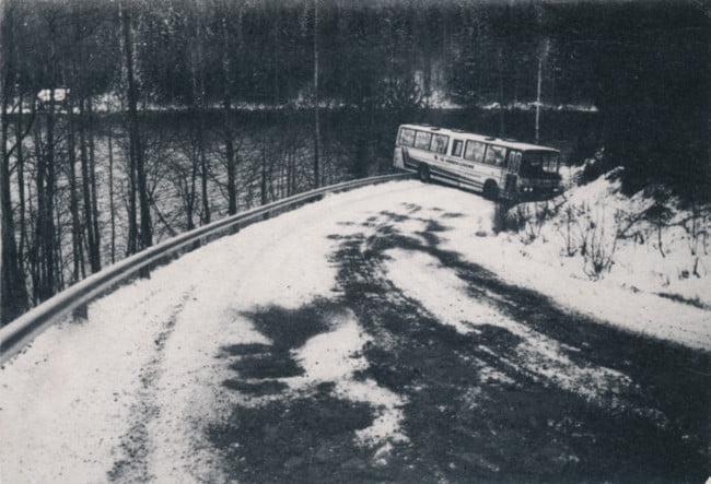 Päivän kolarikuva: Liikenneministeri Raimo Vistbackalle osoitettu kampanjapostikortti