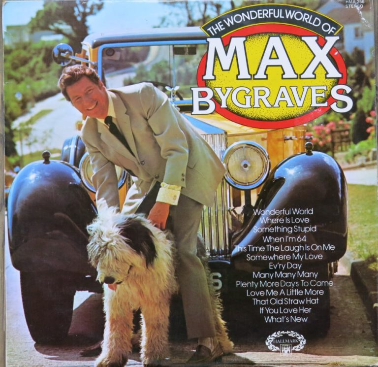 Päivän levynkansi: The Wonderful world of Max Bygraves