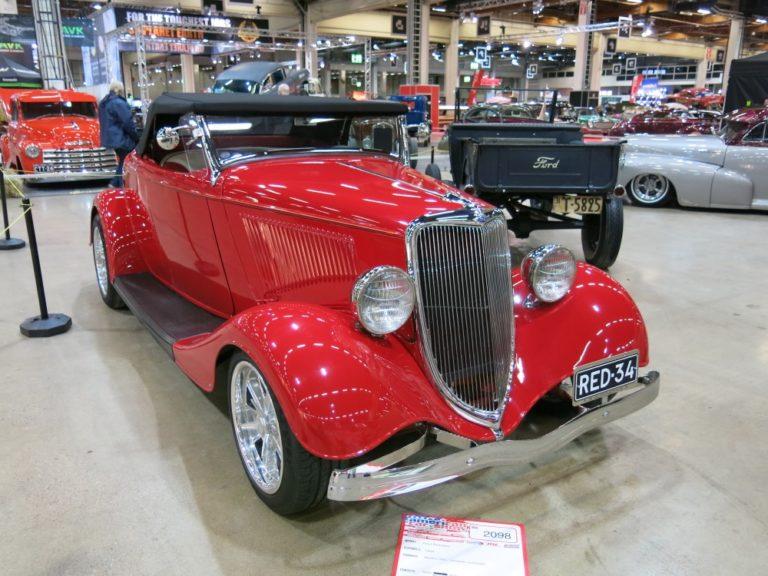 Päivän museoauto: Ford Roadster 1934