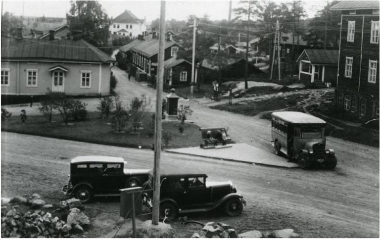 Päivän taksiauto: Onni Vilkkaan kaksi taksiautoa 1920-luvulla